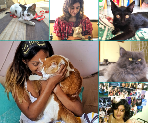 International Cat Day: How Some Super-Cats Changed These Ladies' Lives!