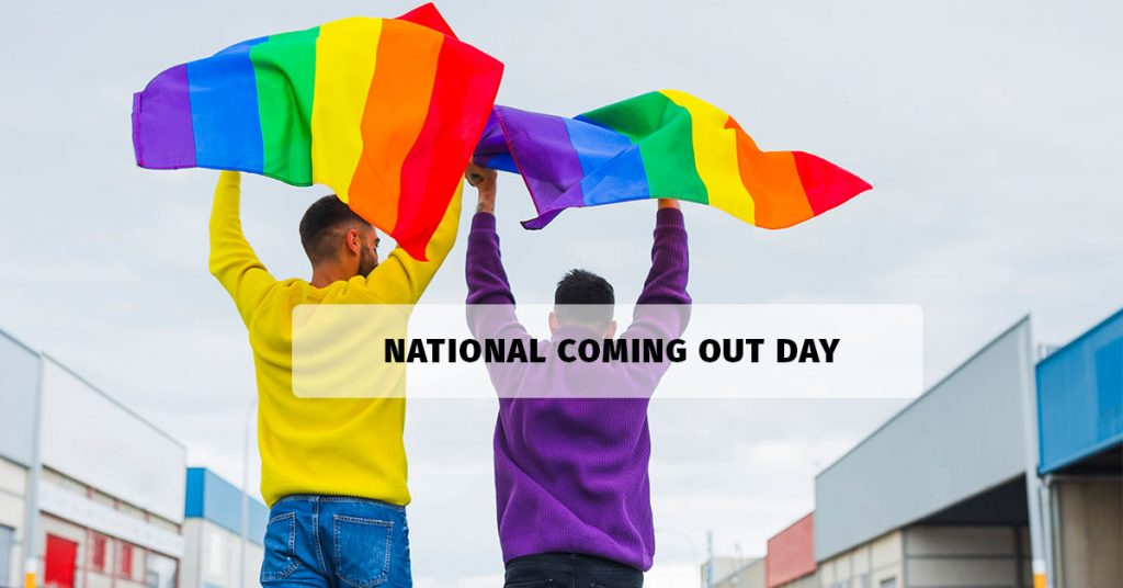 National coming out month day 2020