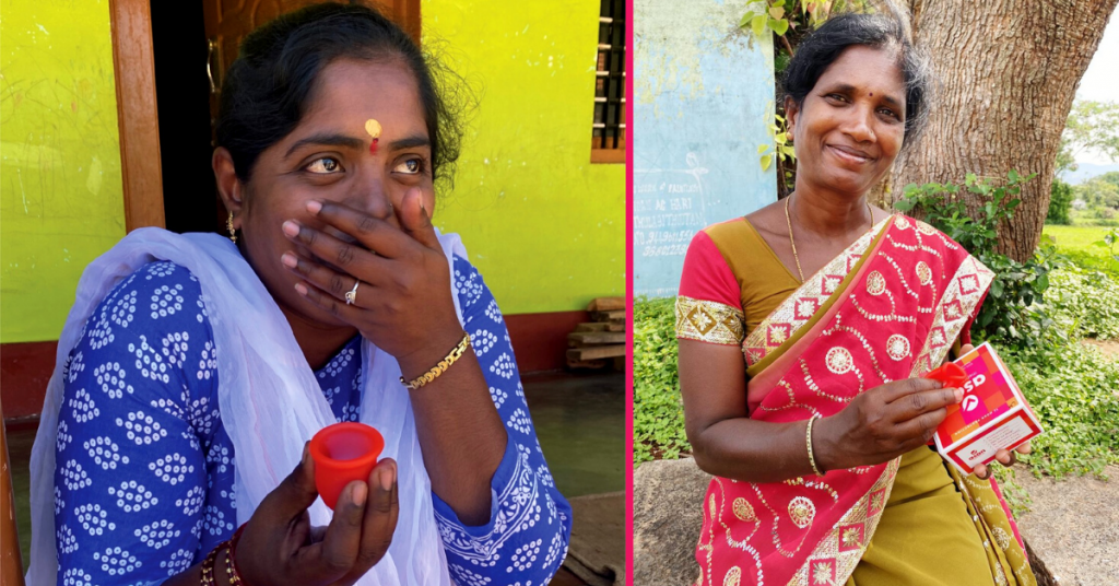 Did you know that almost 70 per cent of the menstruating women in India can't afford to buy sanitary napkins Sonali Sharm Infano Author Writer
