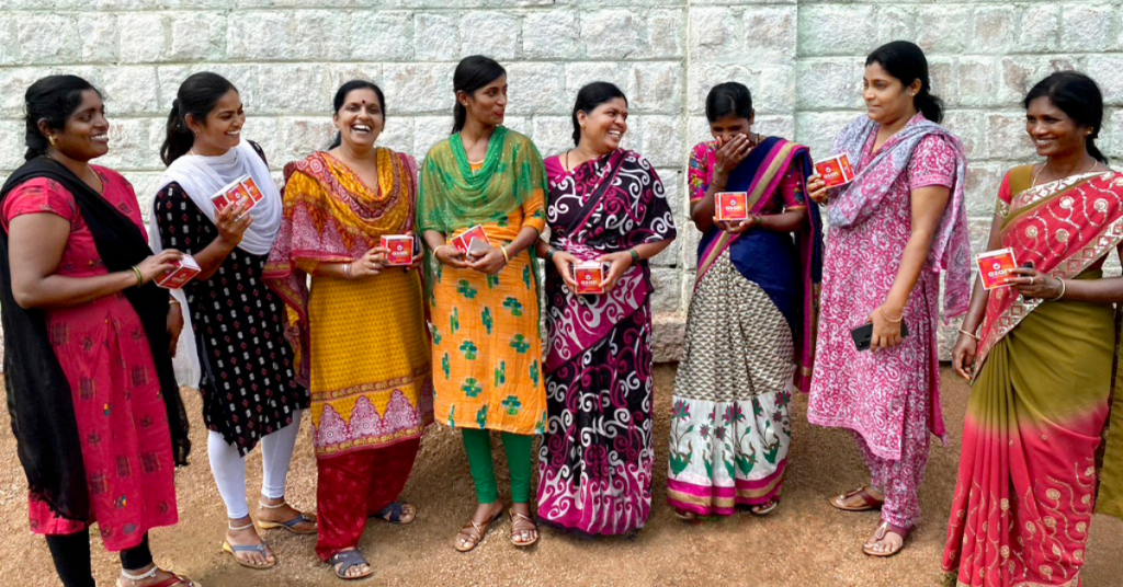 For every single purchase that Asan gets, it donates one menstrual cup for free to underprivileged rural girls and women Infano Sonali Sharma