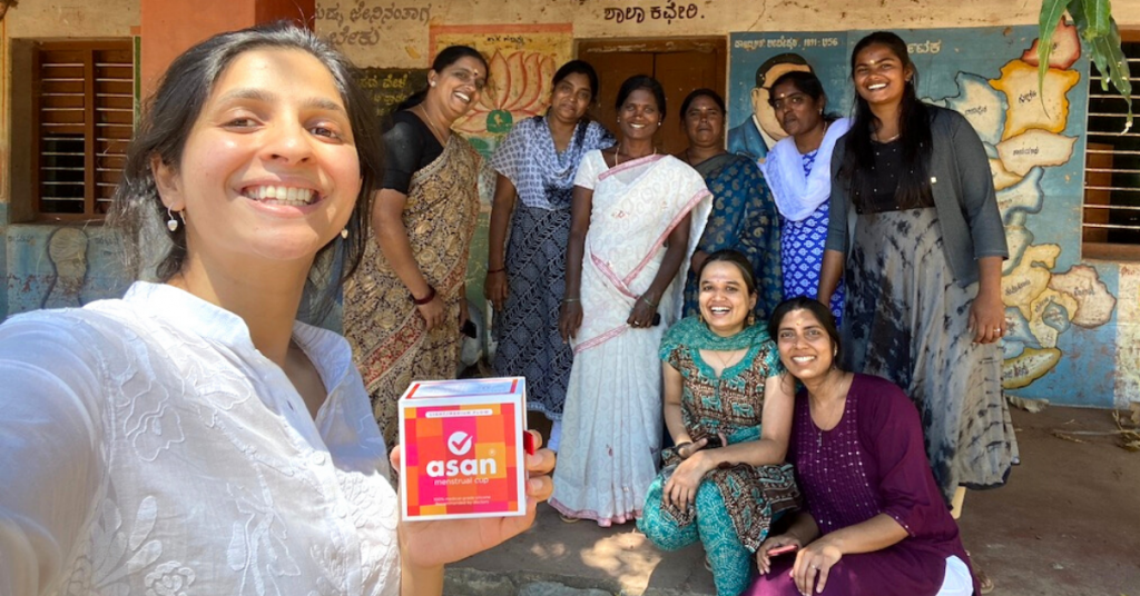 For every single purchase that Asan gets, it donates one menstrual cup for free to underprivileged rural girls and women Infano Sonali Sharma Writer