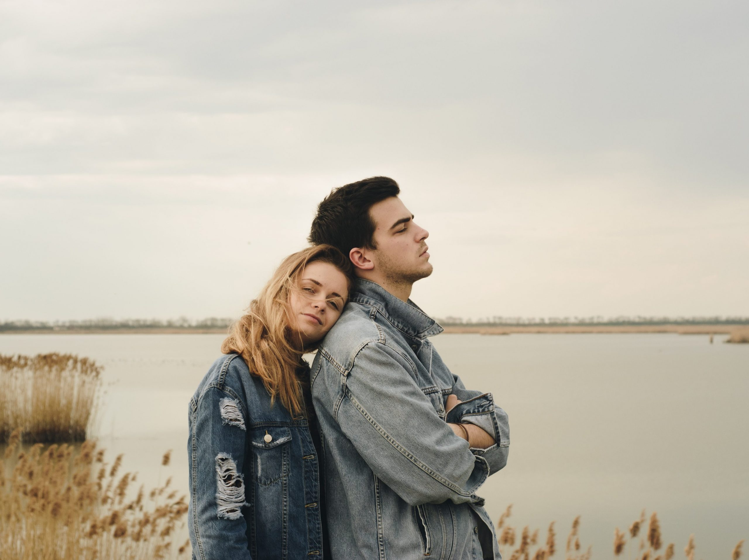 Female empath in a relationship