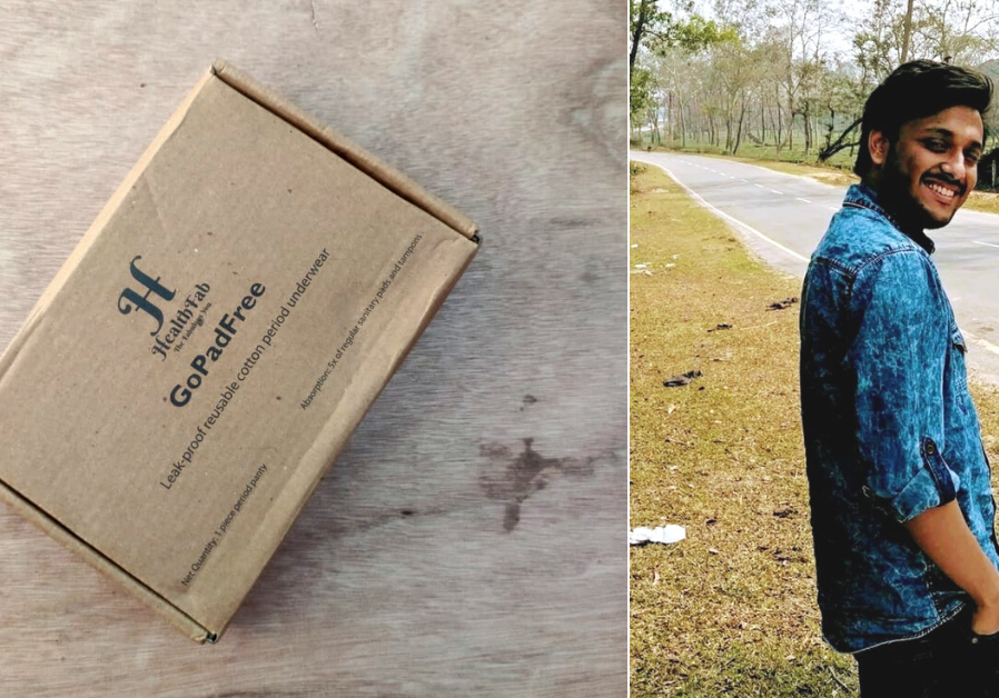 Kiriti Acharjee This Bengaluru Entrepreneur's Eco-friendly Period Product Will Make Your Menstruation Comfortable And Hassle Free Sonali Sharma Infano Sustainable Periods HealthFab GoPadFree